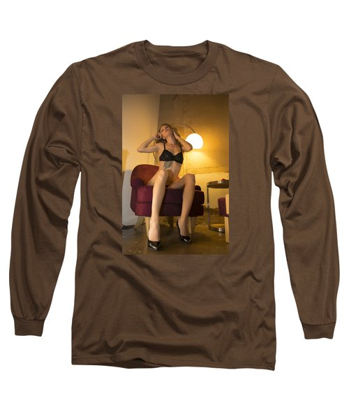 Long Sleeve T-Shirt featuring the photograph Deep Thoughts 0 by Mez