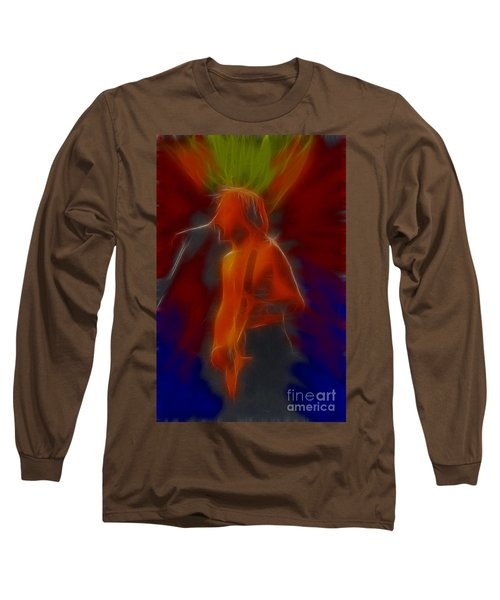 Def Leppard-adrenalize-gb13-phil-fractal Long Sleeve T-Shirt by Gary Gingrich Galleries