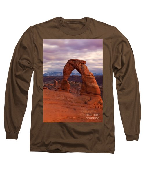 Delicate Arch Dusk Long Sleeve T-Shirt