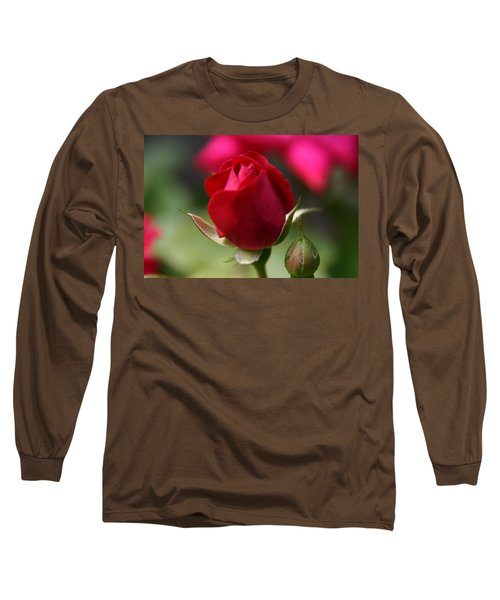 Long Sleeve T-Shirt featuring the photograph Delicate Opening  by Denyse Duhaime