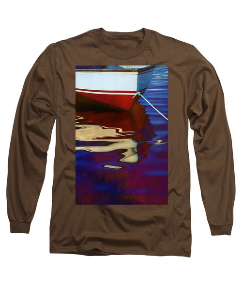Delphin 2 Long Sleeve T-Shirt by Laura Fasulo
