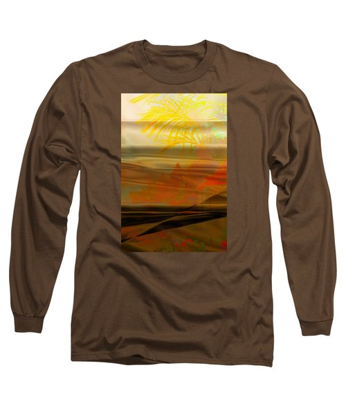 Long Sleeve T-Shirt featuring the digital art Desert Paradise by Paula Ayers