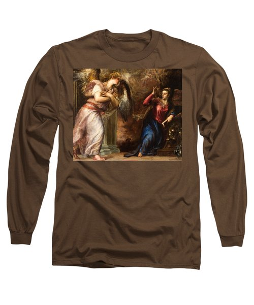 Detail Of The Annunciation Long Sleeve T-Shirt
