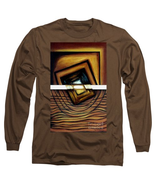 Long Sleeve T-Shirt featuring the painting Deversity View by Fei A