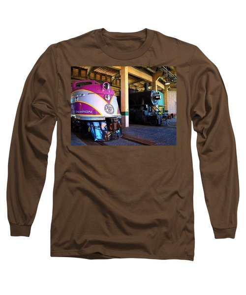 Diesel And Steam Long Sleeve T-Shirt