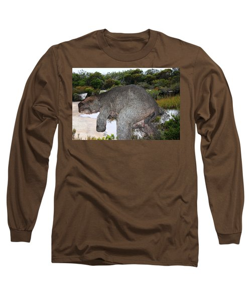 Long Sleeve T-Shirt featuring the photograph Diprotodon by Miroslava Jurcik