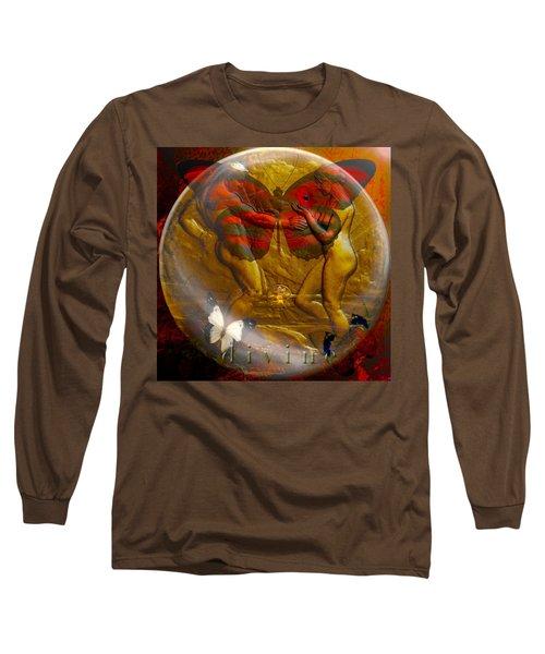Divine Long Sleeve T-Shirt by Joseph Mosley
