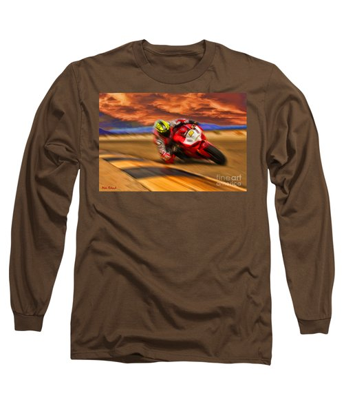 Domenic Caluori At Speed Long Sleeve T-Shirt