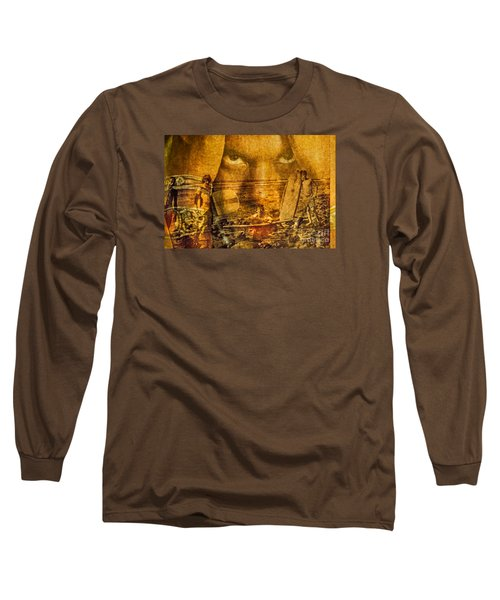 Don't Be Afraid Of The Surf Long Sleeve T-Shirt by Michael Cinnamond