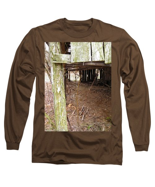 Long Sleeve T-Shirt featuring the photograph Doorway To The Past by Nick Kirby