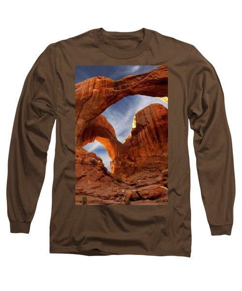 Double Arch - Utah Long Sleeve T-Shirt