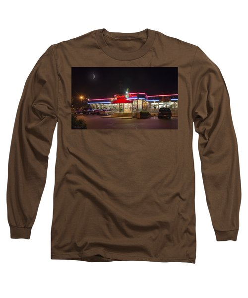 Double T Diner At Night Long Sleeve T-Shirt