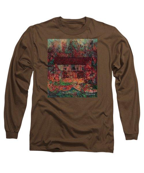 Dragon Hall Long Sleeve T-Shirt by Anna Yurasovsky
