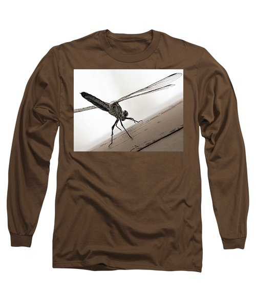Dragon Of The Air  Long Sleeve T-Shirt by Micki Findlay