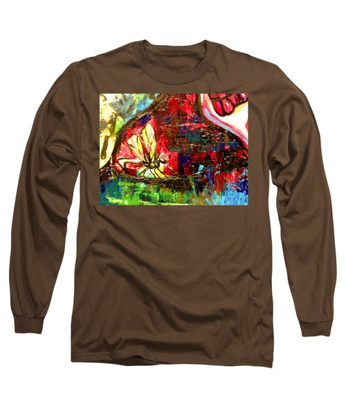 Dragonfly Abstract 2 Long Sleeve T-Shirt
