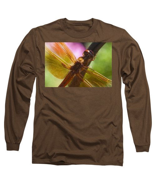Dragonfly Patterns Long Sleeve T-Shirt