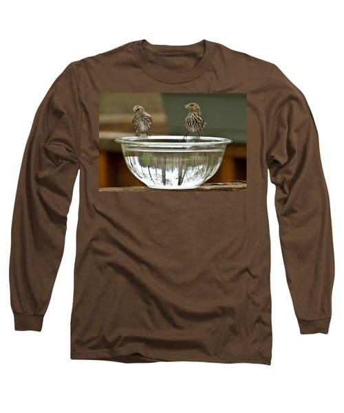 Long Sleeve T-Shirt featuring the photograph Drink Up by Robert L Jackson