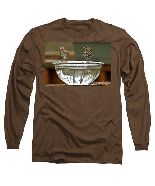 Drink Up Long Sleeve T-Shirt by Robert L Jackson