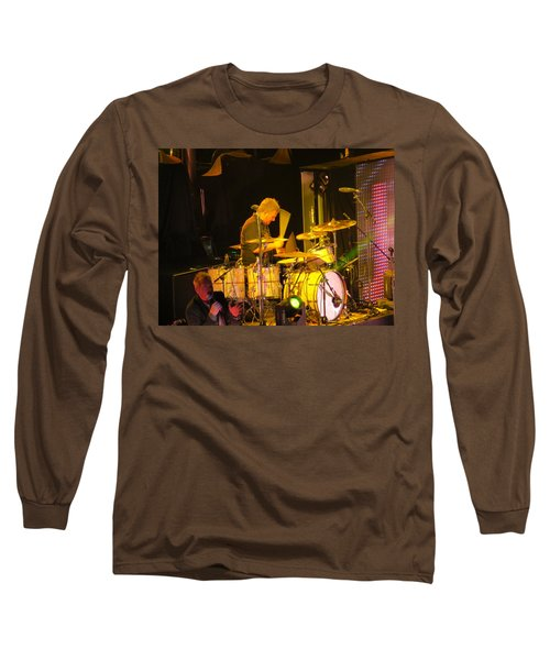 Drumer For Newsong Rocks Atlanta Long Sleeve T-Shirt