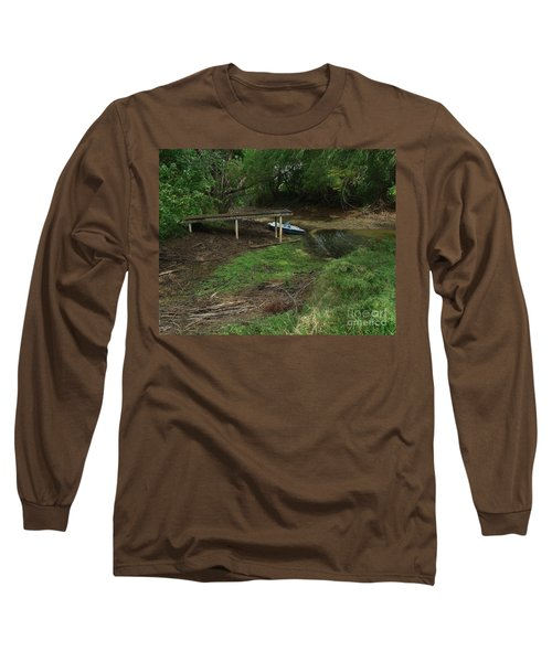 Long Sleeve T-Shirt featuring the photograph Dry Docked by Peter Piatt