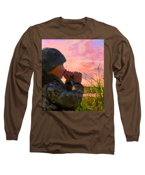 Duck Call Long Sleeve T-Shirt