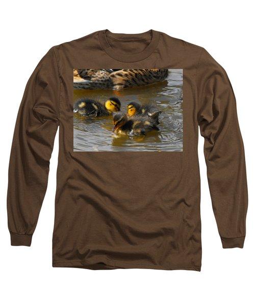 Duckling Splash Long Sleeve T-Shirt