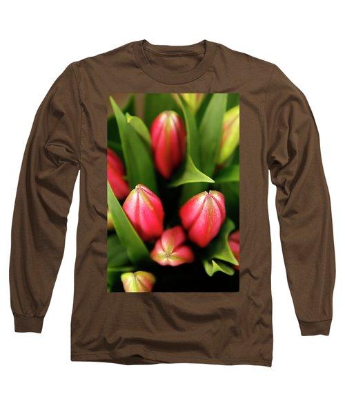 Long Sleeve T-Shirt featuring the photograph Dutch Bulbs by KG Thienemann