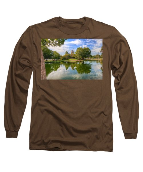 Long Sleeve T-Shirt featuring the photograph Dutch Mill  by Liane Wright