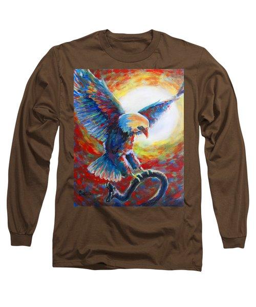 Eagle Takes Charge Long Sleeve T-Shirt