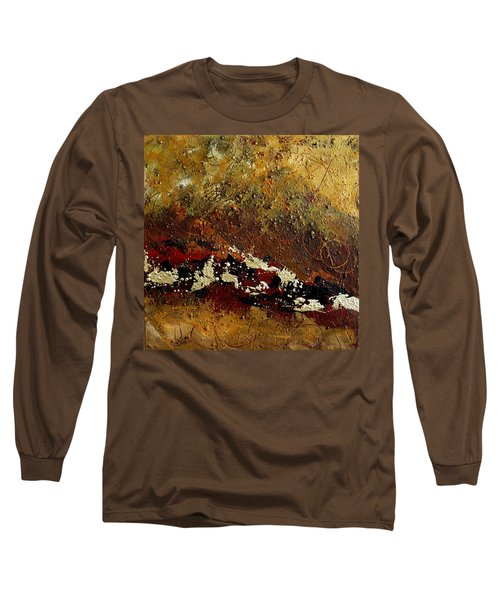 Earth Abstract Four Long Sleeve T-Shirt by Lance Headlee