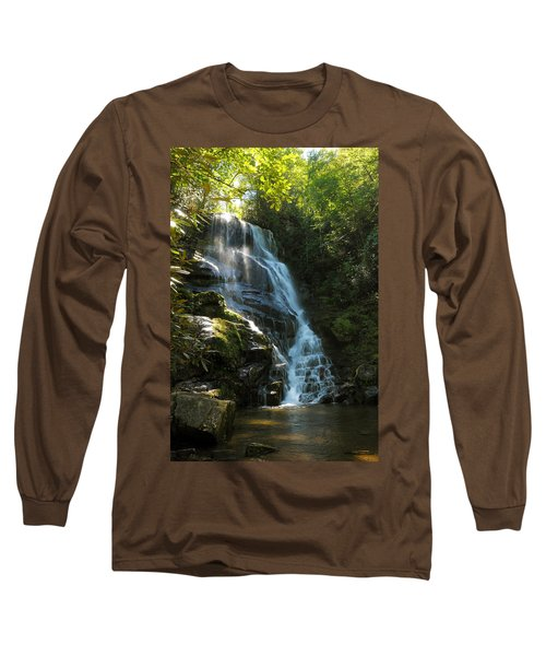 Eastatoe Falls North Carolina Long Sleeve T-Shirt