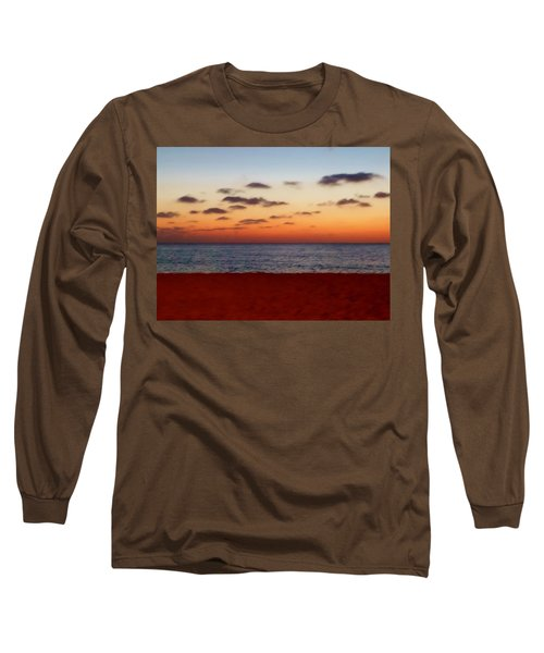 Long Sleeve T-Shirt featuring the photograph Easter Sunset by Amar Sheow