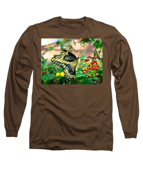 Eating On The Fly Long Sleeve T-Shirt