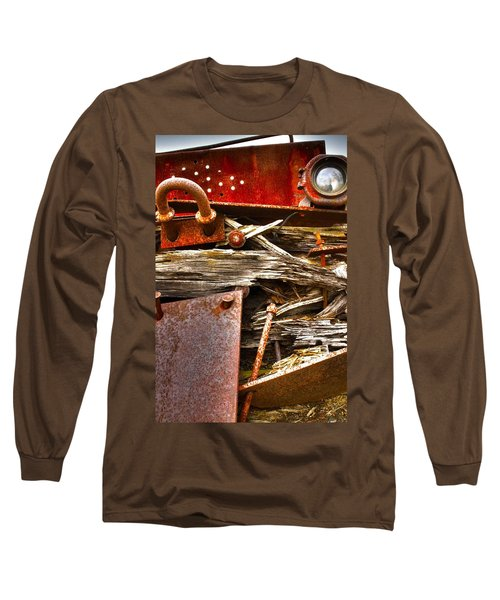 Eckley Faces Long Sleeve T-Shirt