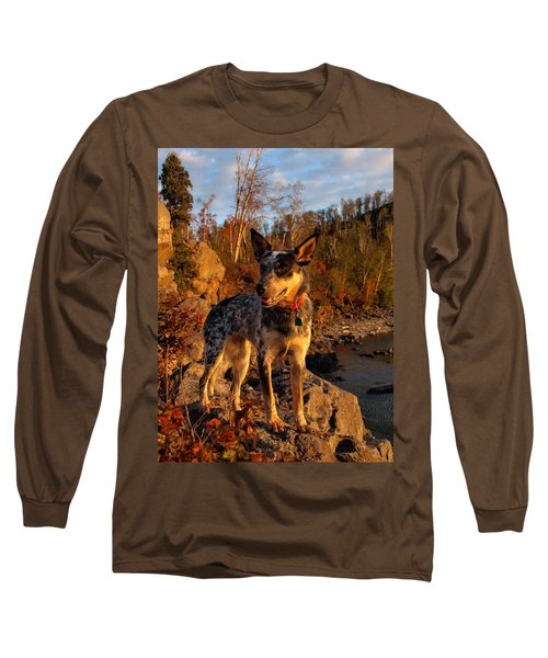 Long Sleeve T-Shirt featuring the photograph Edge Of Glory by James Peterson