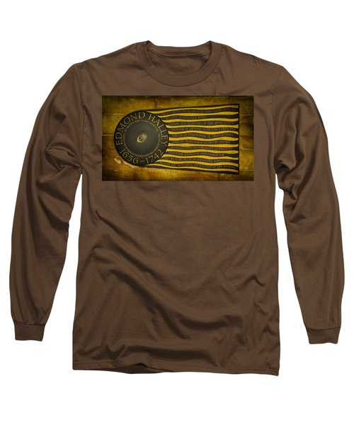 Edmond Halley Memorial Long Sleeve T-Shirt by Stephen Stookey
