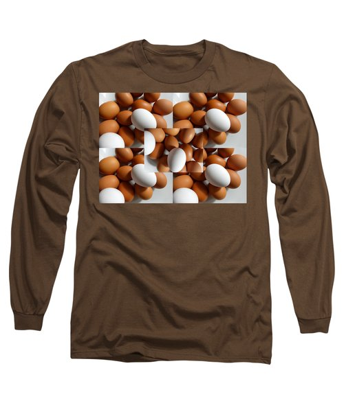 Long Sleeve T-Shirt featuring the photograph Eggland's Best by Tina M Wenger