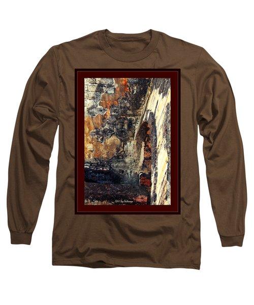El Morro Arch With Border Long Sleeve T-Shirt