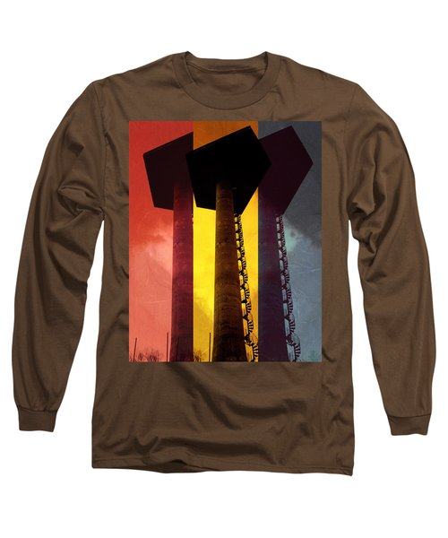 Long Sleeve T-Shirt featuring the photograph Elastic Concrete Part Three by Sir Josef - Social Critic - ART