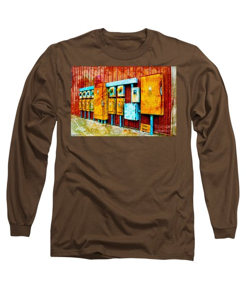Electrical Boxes Iv Long Sleeve T-Shirt