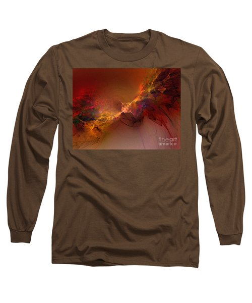 Elemental Force-abstract Art Long Sleeve T-Shirt
