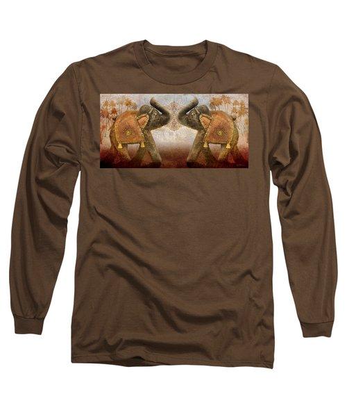 Elephants I Long Sleeve T-Shirt