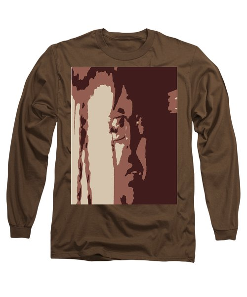 Elongated  Long Sleeve T-Shirt