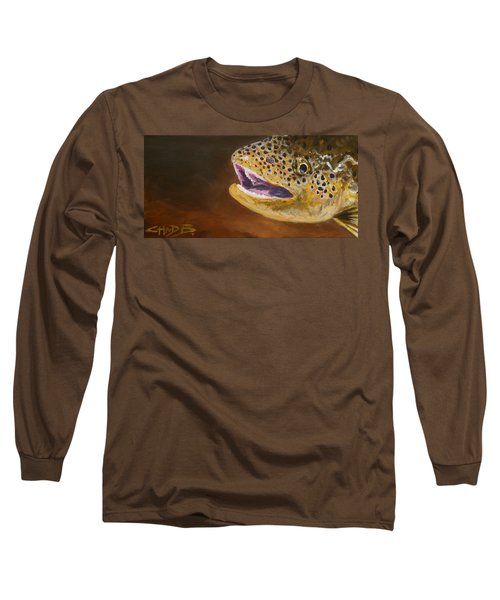 Elusive Brown Long Sleeve T-Shirt