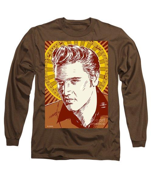 Elvis Presley Pop Art Long Sleeve T-Shirt