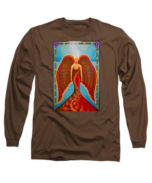 Emeliah Angel Of Inner Journeys Long Sleeve T-Shirt