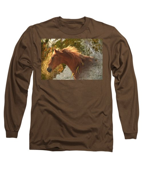 Emerging Free Long Sleeve T-Shirt by Michelle Twohig