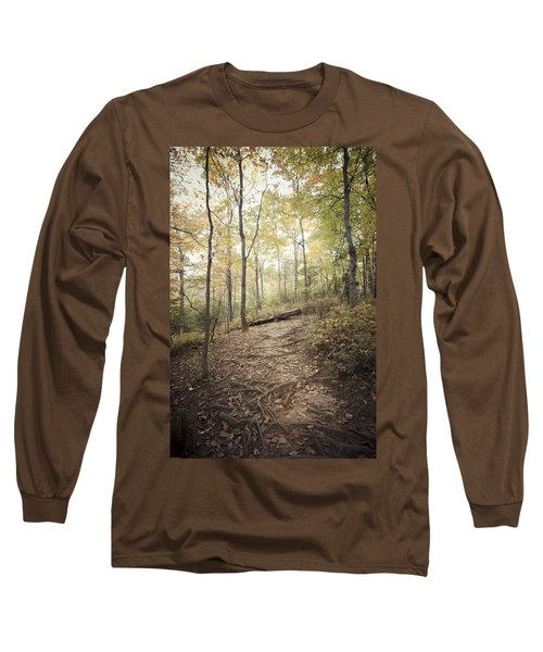 Enchanting Forest Long Sleeve T-Shirt by Debbie Karnes