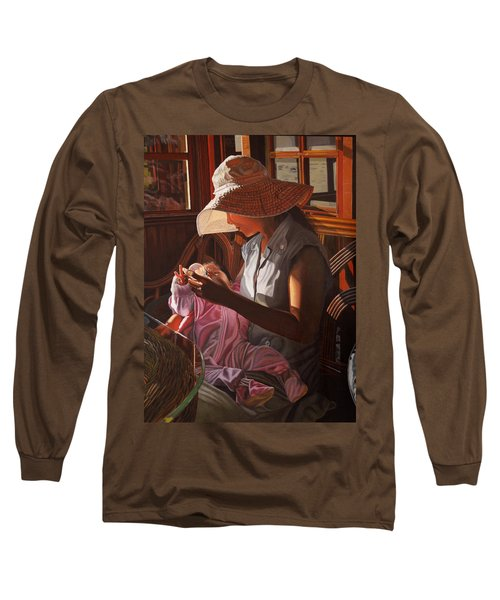 Enfamil At Ha Long Bay Vietnam Long Sleeve T-Shirt by Thu Nguyen