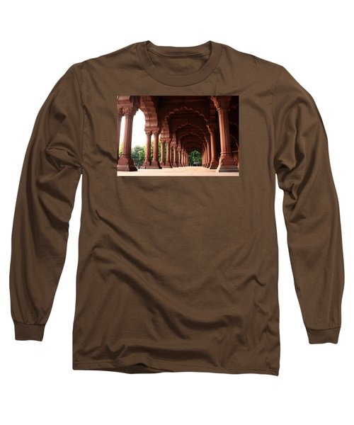 Engrailed Arches Red Fort - New Delhi Long Sleeve T-Shirt